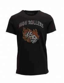 "Mens t shirts online: John Varvatos ""High Rollers Tee"" men's T-shirt"