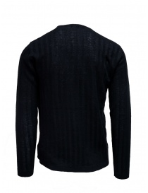John Varvatos ribbed black pullover