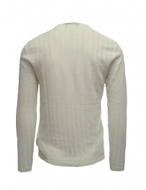 Pullover John Varvatos a coste bianco