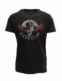 "T-shirt John Varvatos ""Freedom"" colore nero online"