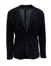 Giacca di maglia John Varvatos colore nero Y2588V1 AZT16 001 BLACK order online