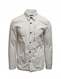 Camicie uomo online: Camicia John Varvatos bianca effetto stropicciato