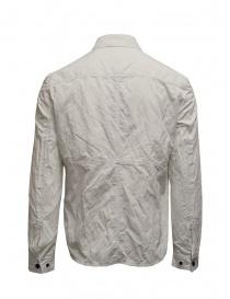 Camicia John Varvatos bianca effetto stropicciato