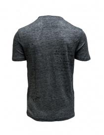 T-shirt John Varvatos grigia con disegni