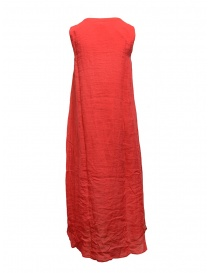 European Culture long sleeveless red dress