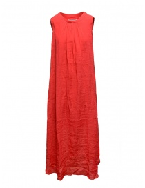 European Culture long sleeveless red dress online