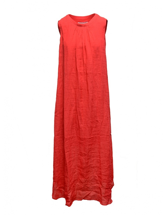 European Culture long sleeveless red dress 18E0 7027 1413 womens dresses online shopping