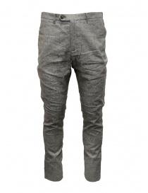 Pantaloni uomo online: Pantaloni John Varvatos grigio selce