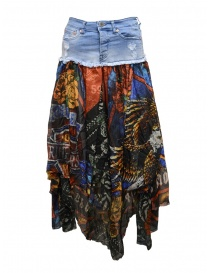 Rude Riders long jeans and fabric skirt R03670 73999 order online