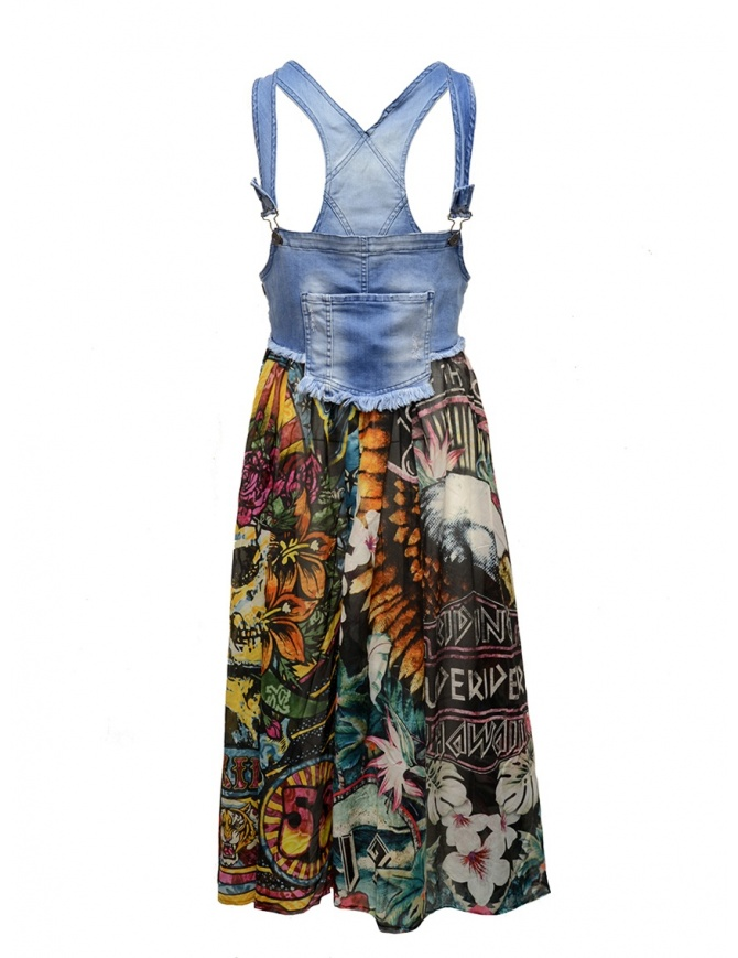 Salopette gonna Rude Riders Aloha M.C. R03675 73999 gonne donna online shopping