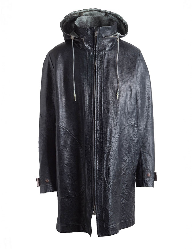 Carol Christian Poell Parka Reversibile Nero-Bianco LM/2400-IN PABIS-PTC/010 cappotti uomo online shopping