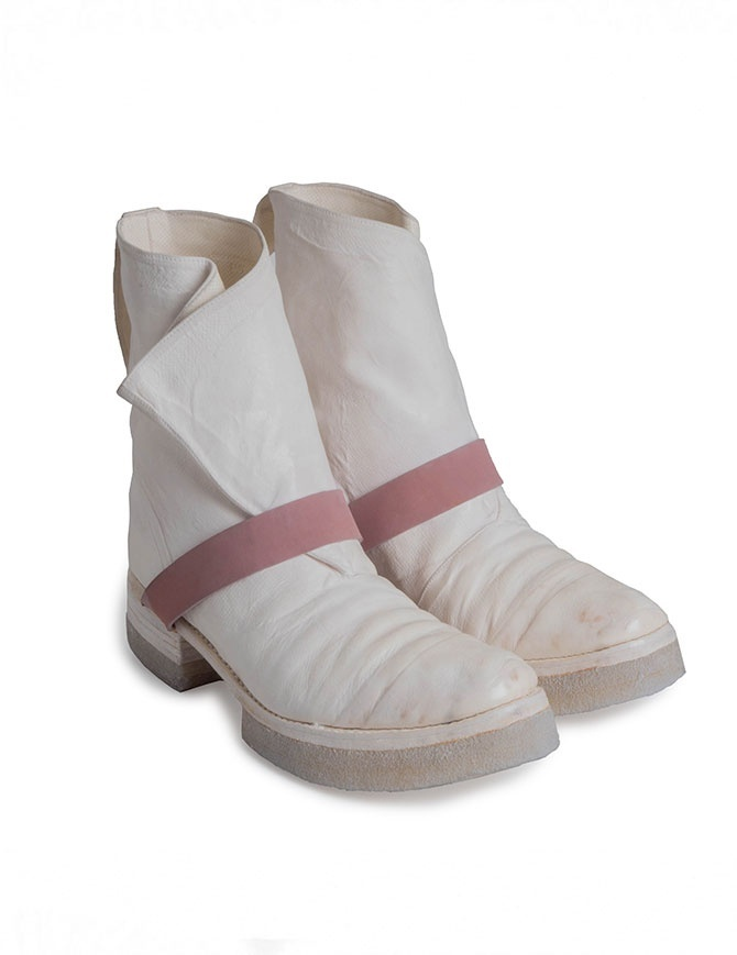Carol Christian Poell AM/2598 In Between white boots AM/2598-IN ROOMS-PTC/01 mens shoes online shopping