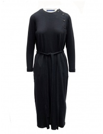 Womens dresses online: Hiromi Tsuyoshi navy dress