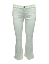 Avantgardenim white flared trousers online
