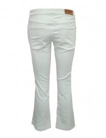 Pantaloni da donna bianchi Avantgardenim a zampa