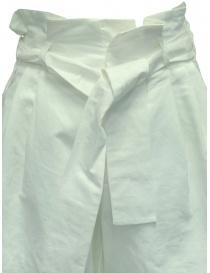 Pantaloni European Culture Lux Mood a palazzo bianchi prezzo
