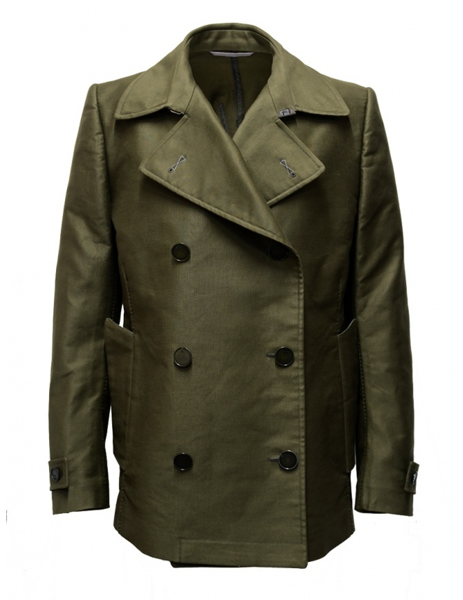 Carol Christian Poell OM/2660 Green Caban OM/2660-IN WIPECO/08 mens jackets online shopping