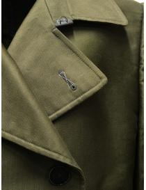Carol Christian Poell OM/2660 Green Caban mens jackets price