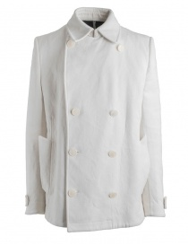 Mens suit jackets online: Carol Christian Poell OM/2660 Reversible White Caban