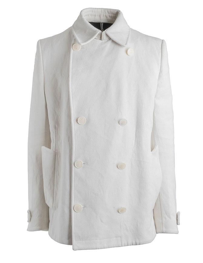 Caban Carol Christian Poell OM/2660 Bianco Reversibile OM/2660-IN KOAT-BW/110 giacche uomo online shopping