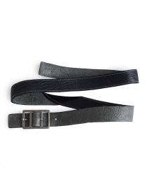 Carol Christian Poell belt in black bison leather AM/2623-IN PABER-PTC/010