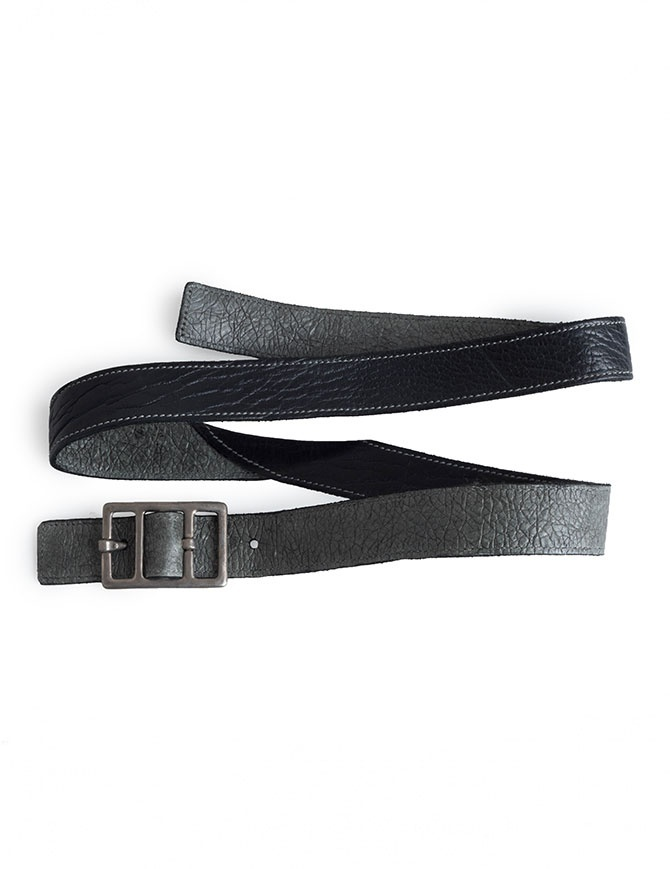 Carol Christian Poell belt in black bison leather AM/2623-IN PABER-PTC/010 belts online shopping