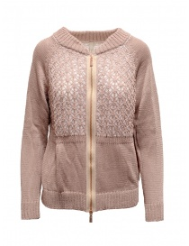 Yasmin Naqvi pink bomber sweater SCD10 ROSA BOMBERINO order online