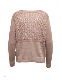 Yasmin Naqvi pink sweater