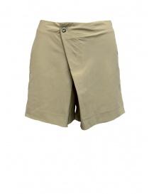 Pantaloni shorts Yasmin Naqvi colore beige YNP11 BEIGE SHORTS order online