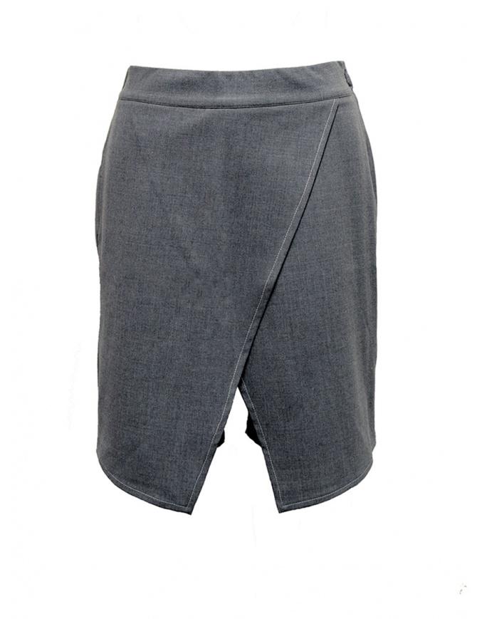 Pantagonna Yasmin Naqvi color grigio YNP12 GRIGIO PANTAGONNA pantaloni donna online shopping