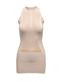 Yasmin Naqvi geometrical pink dress SCD04 BIANCO/ROSA order online