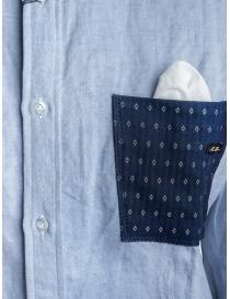 Maurizio Massimino blue pocket shirt