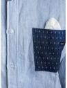 Maurizio Massimino blue pocket shirt shop online mens shirts