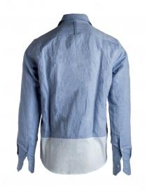 Camicia Maurizio Massimino taschino blu camicie uomo acquista online