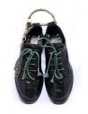 Carol Christian Poell scarpe Oxford AM/2597 in verde scuro AM/2597-IN CORS-PTC/12 acquista online