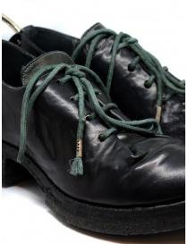 Carol Christian Poell scarpe Oxford AM/2597 in verde scuro calzature uomo prezzo