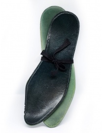 Carol Christian Poell scarpe Oxford AM/2597 in verde scuro acquista online prezzo