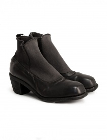 Womens shoes online: Guidi E98W black ankle boots
