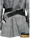 Giacca Kolor con bande nere e fantasia a quadri bianca prezzo 19SCL-J01156 WHITE CHECKshop online