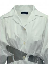 Camicia Kolor bianca a bande argento prezzo