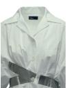 Camicia Kolor bianca a bande argento 19SCL-B03151 WHITE prezzo