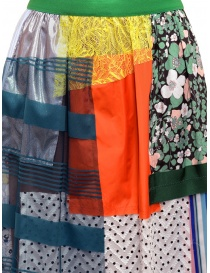 Kolor skirt light tone patchwork price