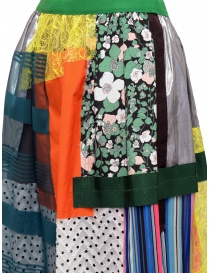 Kolor skirt light tone patchwork womens skirts buy online