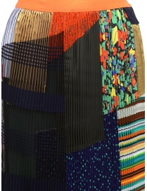 Kolor pleated skirt with patchwork price