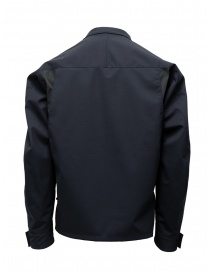 Kolor jacket diagonal pockets dark navy