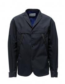 Giacca Kolor blu navy scuro con tasche diagonali online