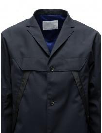 Giacca Kolor blu navy scuro con tasche diagonali prezzo