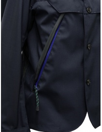 Giacca Kolor blu navy scuro con tasche diagonali giacche uomo acquista online