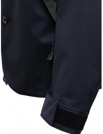Giacca Kolor blu navy scuro con tasche diagonali giacche uomo prezzo