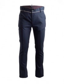 Maurizio Massimino blue trousers online